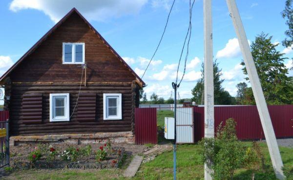 Жилой дом в д.Калеево. Газ по границе. От МКАД 110 км